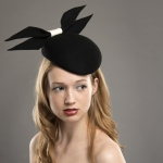 Vail pillbox hat by Hostie Hats