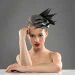 Zermatt Pillbox hat by Hostie Hats