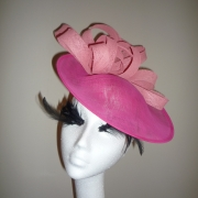 Oxfordshire 12 inch Dish Hat by Hostie Hats