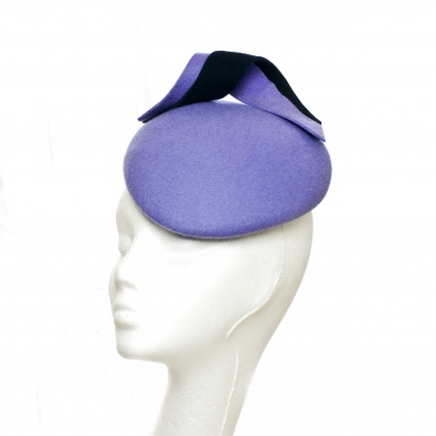Brampton Pillbox Hat by hostie hats