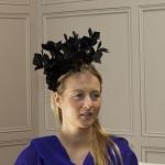 Sussex Fascinator by hostie hats