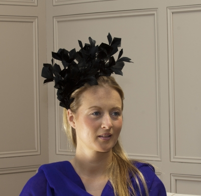 Sussex Fascinator by hostie hats