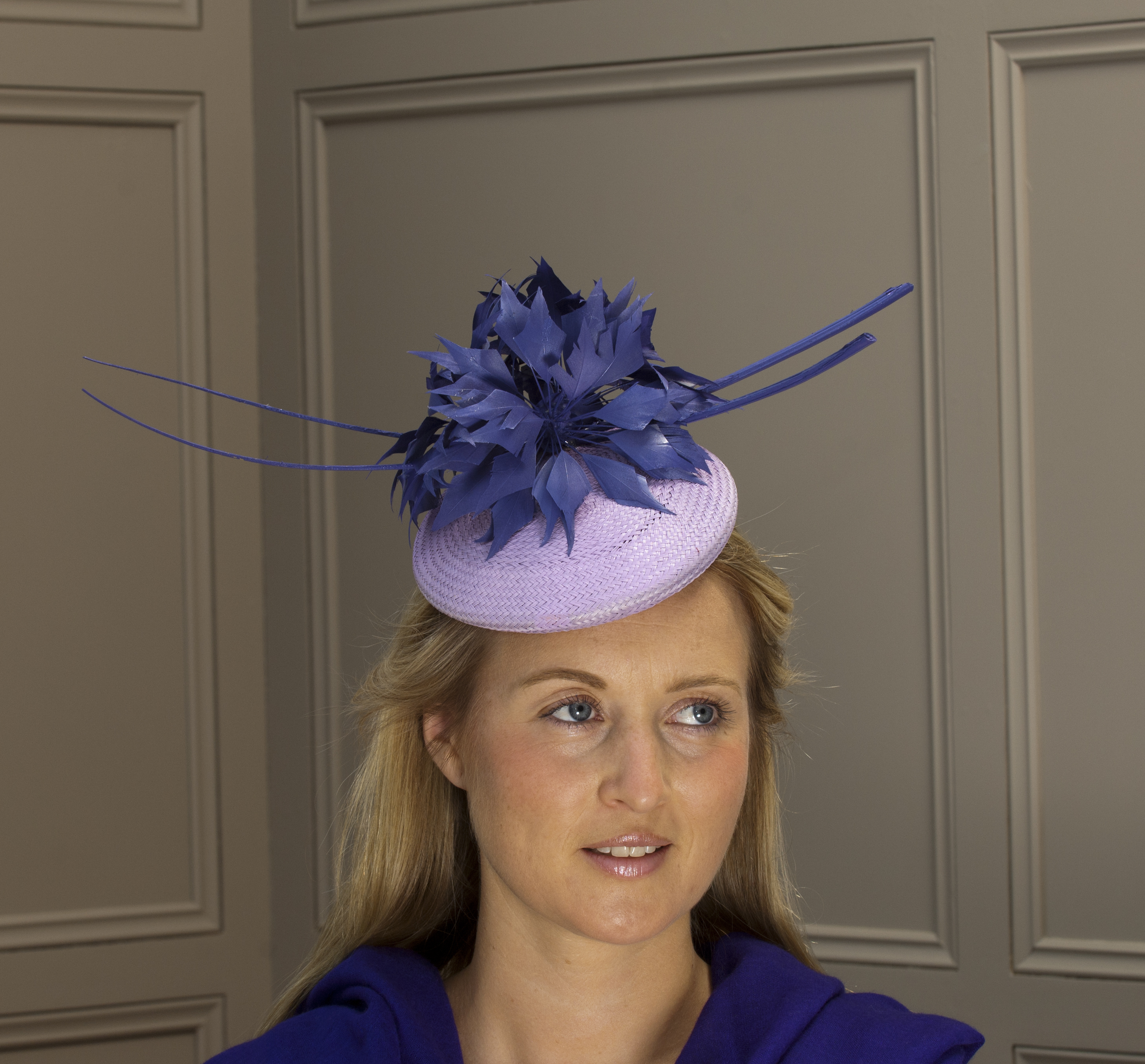 Cumbria Pillbox hat by Hostie Hats