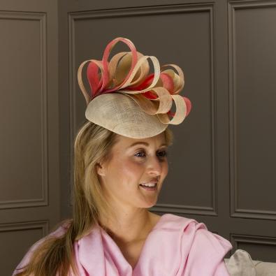 Devon Pillbox Hat by Hostie Hats