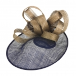 """Oxfordshire 12"""" Saucer Hat by Hostie Hats"""