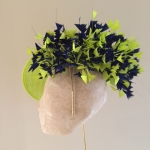 """Gloucestershire 12"""" dish hat by Hostie Hats"""