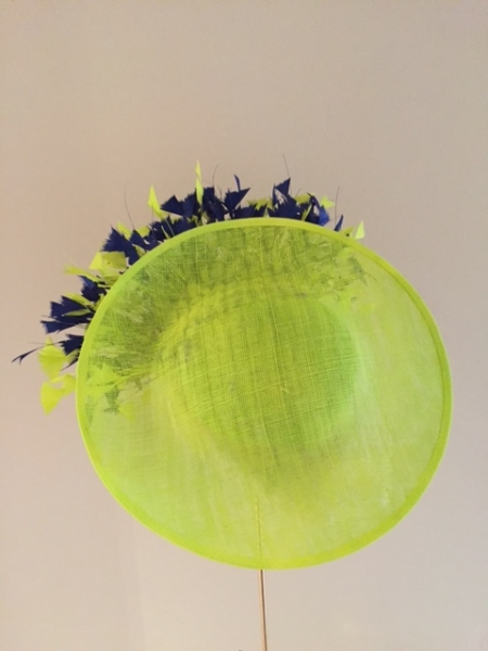 Gloucestershire 12″ dish hat side view 2