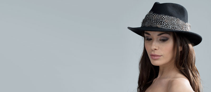 Stay stylish whilst keeping warm in our gorgeous Fedoras
