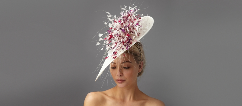 Summer wedding hats