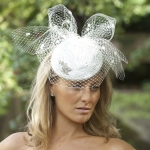 Orchid Pillbox Hat by Hostie Hats