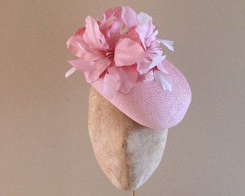 Balmoral Hat in Pink by Hostie Hats