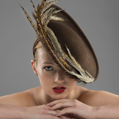 Klosters dish hat by Hostie Hats