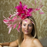 Nottinghill Fascinator by Hostie Hats