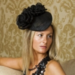 Waterloo Pillbox Hat by Hostie Hats