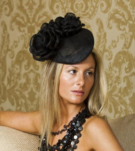 Waterloo Pillbox hat by Hostie Hats