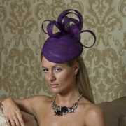 Mayfair pillbox hat by Hostie Hats