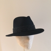 Planet with black bead Hostie Hats