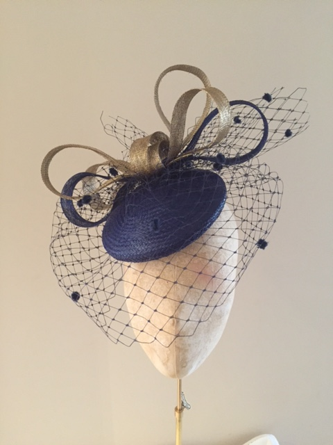 Longleat hat with veil