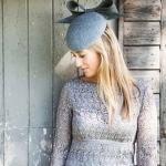 Appleby felt pillbox by hostie hats