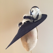 Oxfordshire 18 inch, nautalis, Ivory, Hostie Hats