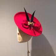 St Moritz, Red, Hostie Hats