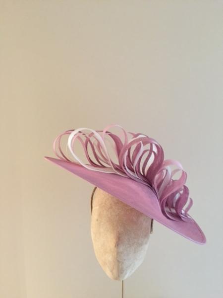 Surrey Loop, Cherry blossom, Magenta, Ivory, Raspberry, Hostie Hats