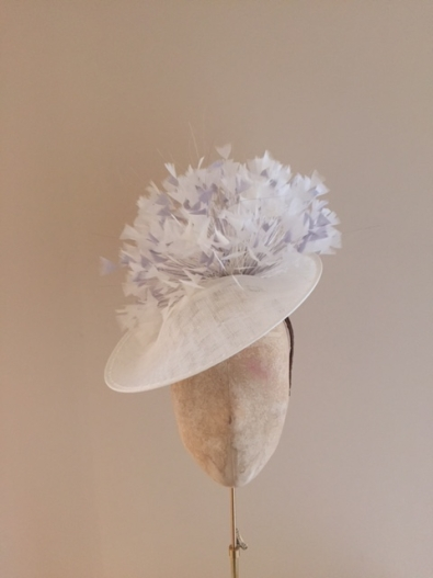 Wiltshire 12 inch, Ivory, Wall, Hostie Hats