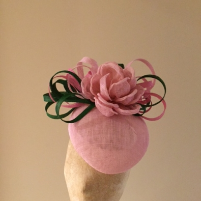 Cheshire Pillbox Hat by Hostie Hats