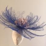 Hyacinth Fascinator by Hostie Hats