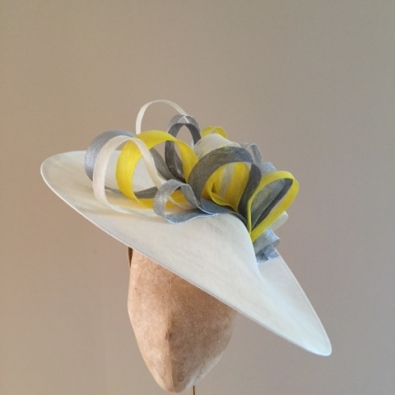 "Surrey Loop 18"" Dish Hat by Hostie Hats"