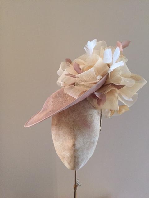 "Mandarin 12"" Dish Hat by Hostie Hats"
