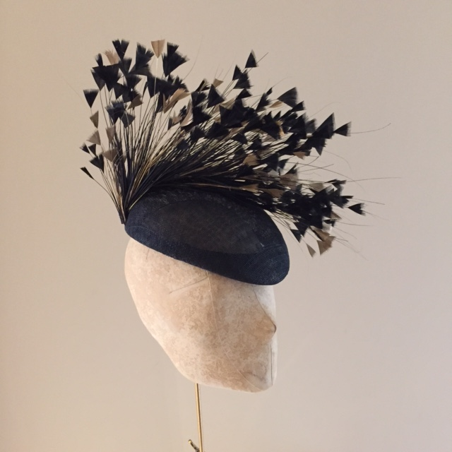 Blair Pillbox Hat by Hostie Hats