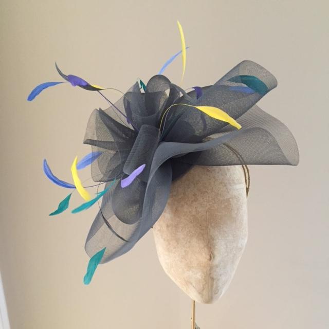 Hydrangea Fascinator by Hostie Hats