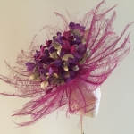 Grosvenor Fascinator by Hostie Hats