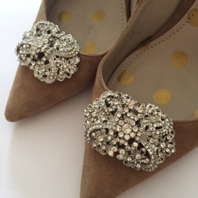 Rachael Shoe Clip diamante