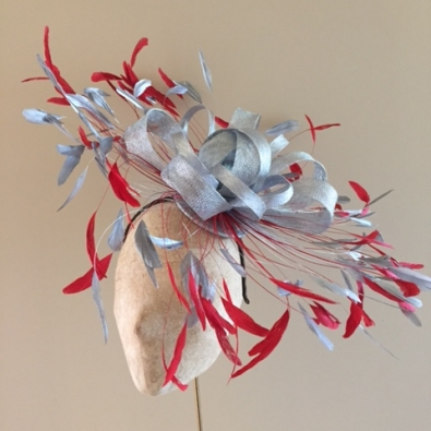 Badminton Fascinator by Hostie Hats