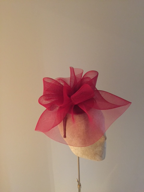 Hydrangea Fascinator bu Hostie Hats
