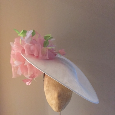 "Mandarin 18"" Dish Hat by Hostie Hats"