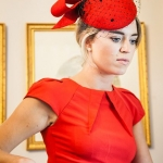 St Anton Pillbox Hat by Hostie Hats