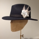 Aries Fedora by Hostie Hats