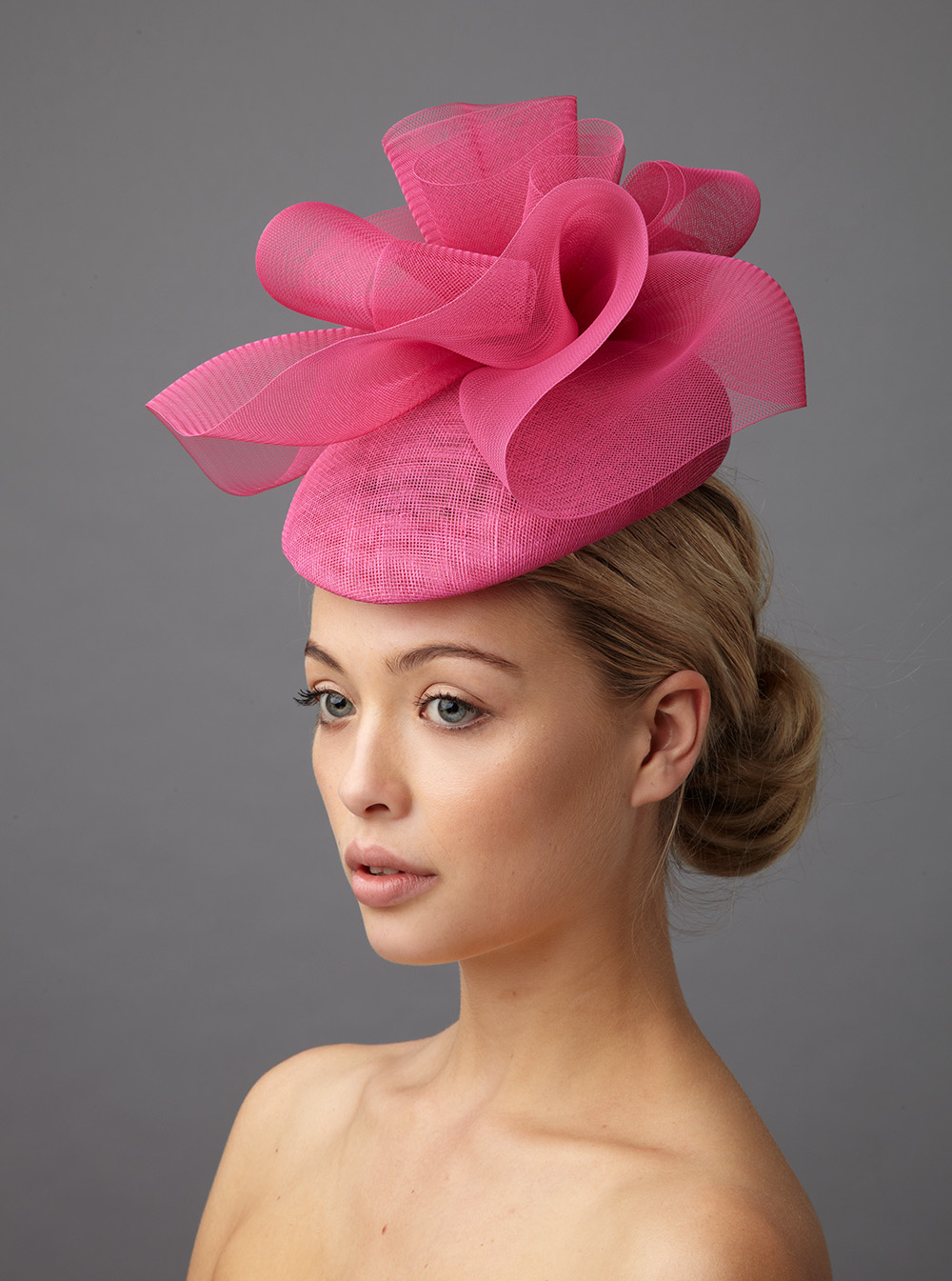 Bacall pillbox hat by Hostie Hats
