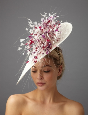 Bardot Dish Hat by Hostie Hats