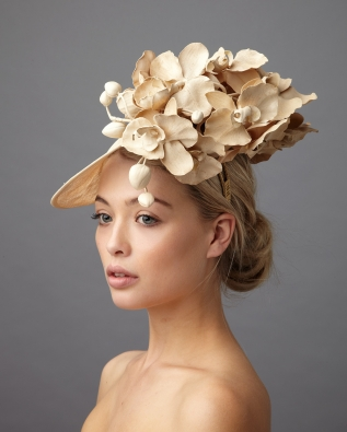 Bergman Dish Hat by Hostie Hats