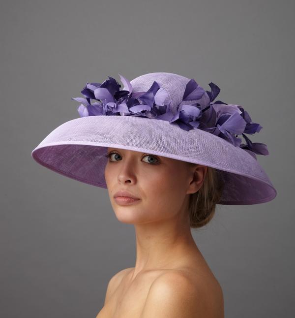 Garbo hat by Hostie Hats