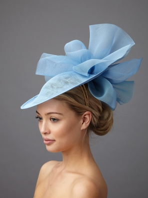 Havilland dish hat by Hostie Hats