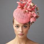 Hayworth Pillbox hat by Hostie Hats