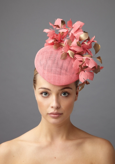 Hayworth Pillbox hat by Hostie Hats