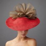 Kerr Dish Hat by Hostie Hats