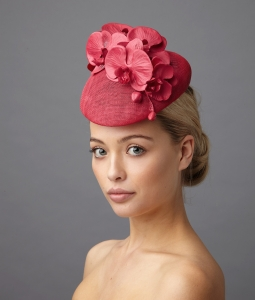 Leigh Pillbox hat by hostie hats