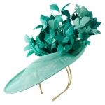 Lombard dish hat by Hostie Hats